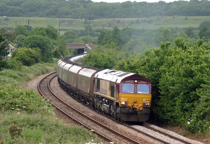 66214, 15.53 Avonmouth Bulk Hnadling Terminal-Didcot Power Station, Brentry, Bristol, 15-6-05.