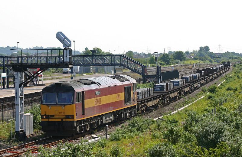 60083, 00.51 Lackenby-Llanwern, Severn Tunnel Junction, 8-6-05.