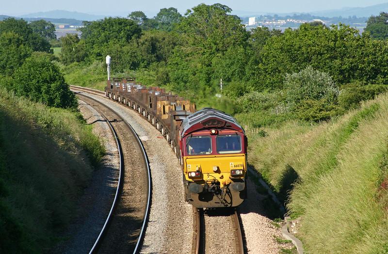 66078, 08.17 Lackenby-Margam, Sedbury Lane, Chepstow, 22-6-05.