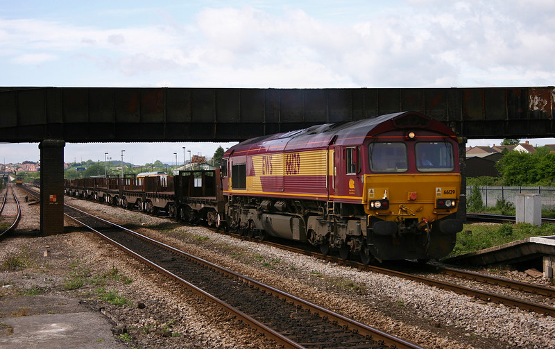 66129, 09.33 Margam-Lackenby, Severn Tunnel Junction, 5-5-05.