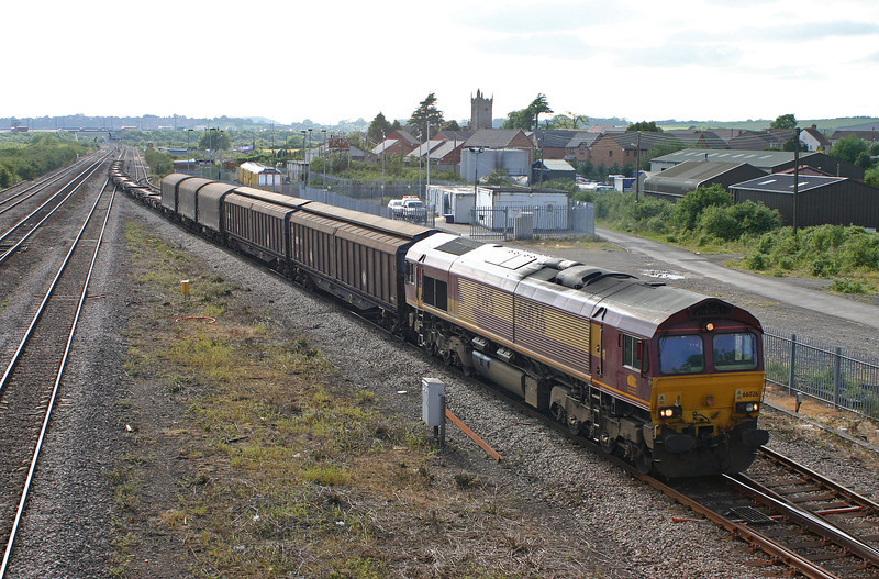 66026, 16.36 Newport Alexandra Dock Junction Yard-Wembley Yard, Severn Tunnel Junction, 26-5-05.