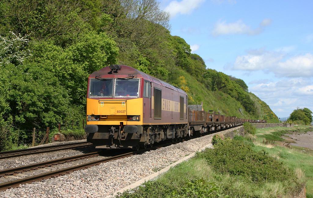60027, 05.57 Lackenby-Llanwern,  Gatcombe, 5-5-05.