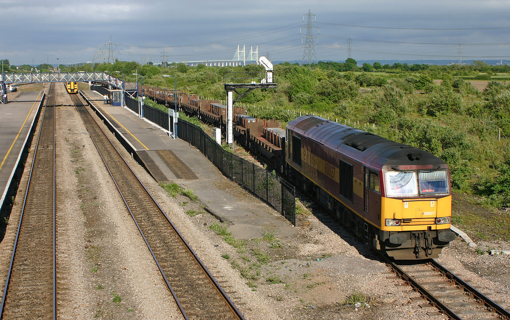 60027, 08.17 Lackenby-Margam, Severn Tunnel Junction, 26-5-05.