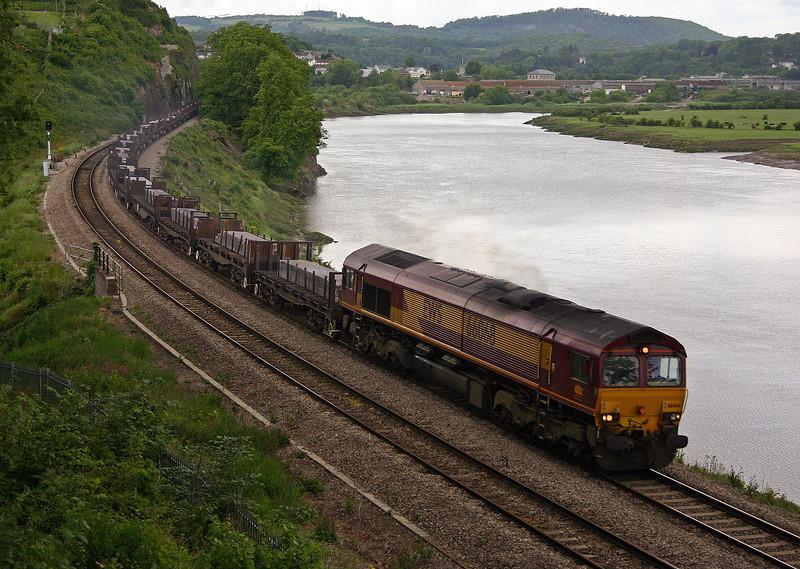 66068, 05.57 Lackenby-Llanwern, Bulwark, Chepstow, 31-5-05.