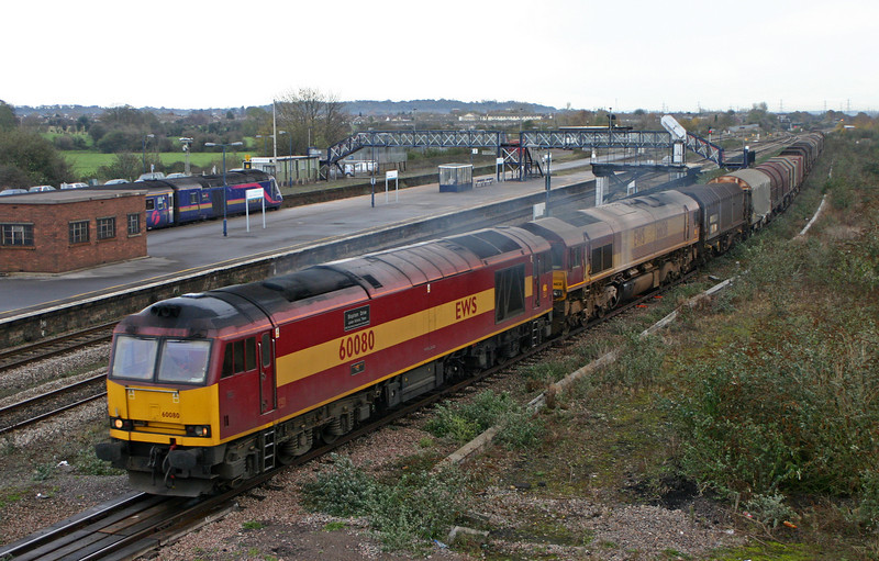 60080/66138 09.39 Round Oak-Margam, Severn Tunnel Junction, 28-11-05.