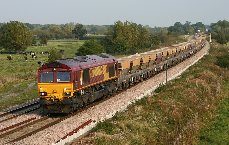 66022, 12.30 Thorney Mill-Margam, Shrivenham, 11-10-05.