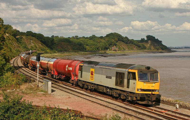 60046, 11.18 Westerleigh-Robeston, load x 26, Purton, near Lydney, 5-9-05.