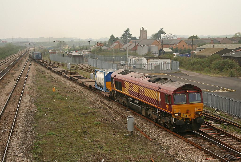 66141, 16.39 Newport Alexandra Dock Junction-Wembley Yard, Severn Tunnel Junction, 24-4-06.