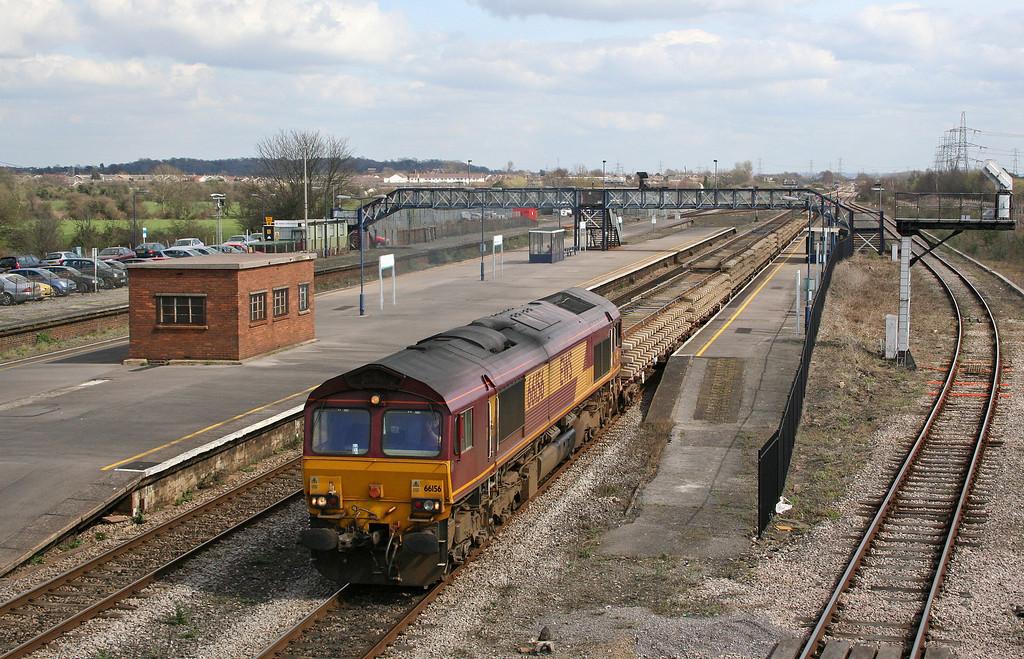66156, 09.15 Westbury Yard-Newport Alexandra Dock Junction, Severn Tunnel Junction 4-4-06.