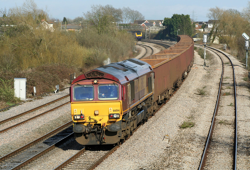 66014, 15.18 Westbury Yard-Tower, Magor, 11-4-06. HST, eastbound.