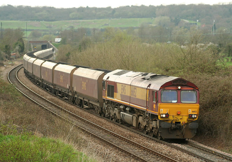 66152, 16.53 Avonmouth Bulk Handling Terminal-Didcot Power Station, Brentry, Bristol, 20-4-06.