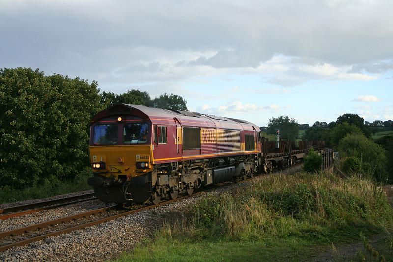 66033, 17.12 Llanwern-Lackenby, Bullo Pill, near Newnham, Gloucestershire, 29-8-06.