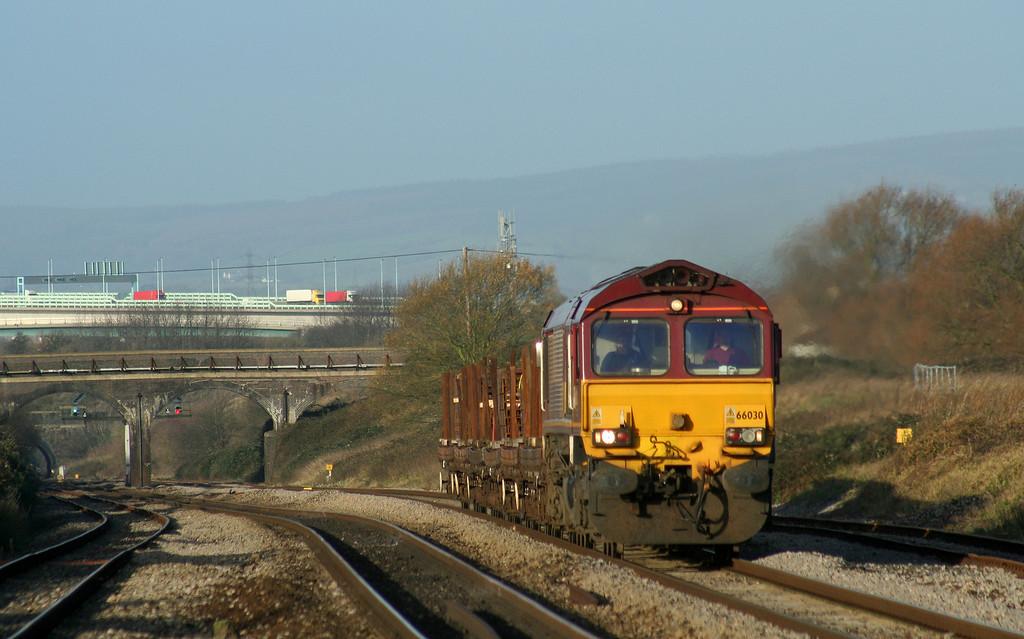 66030, 09.41 Newport Alexandra Dock Junction-Bristol East Depot, Pilning, 6-12-06.