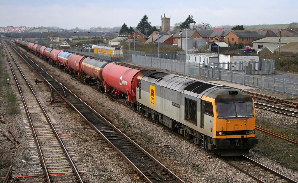 60067, 05.33 Robeston-Westerleigh, Severn Tunnel Junction, February 20.