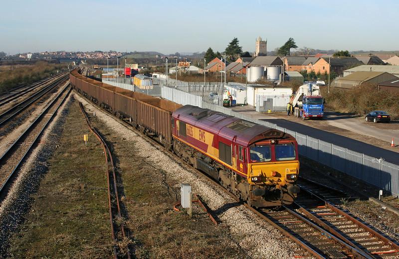 66135, 06.52 Margam-Swindon, Severn Tunnel Junction, 10-2-06.