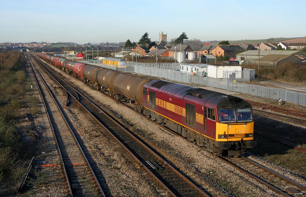 60049, 05.33 Robeston-Westerleigh, Severn Tunnel Junction, 10-2-06.
