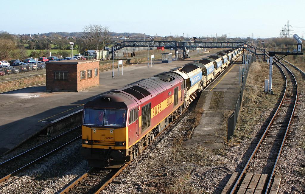 60002, 09.15 Westbury Yard-Newport Alexandra Dock Junction, Severn Tunnel Junction, 26-1-06.