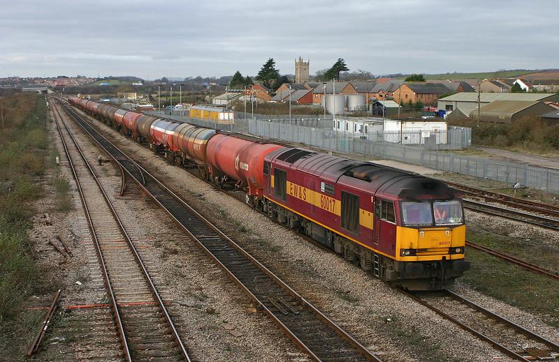 60017, 05.33 Robeston-Westerleigh, Severn Tunnel Junction, 26-1-06.