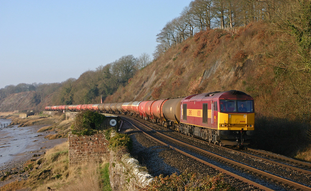60008, Robeston-Westerleigh, Gatcombe, 28-1-06.