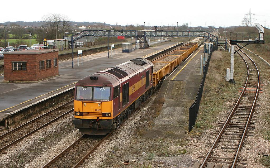 60025, 09.15 Westbury Yard-Newport Alexandra Dock Junction, Severn Tunnel Junction, 4-1-06.