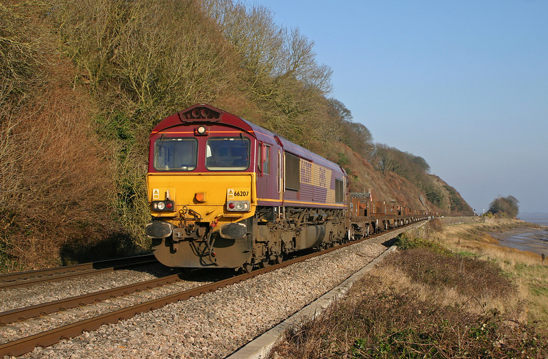 66207, 04.55 Lackenby-Llanwern, Gatcombe, 28-1-06.