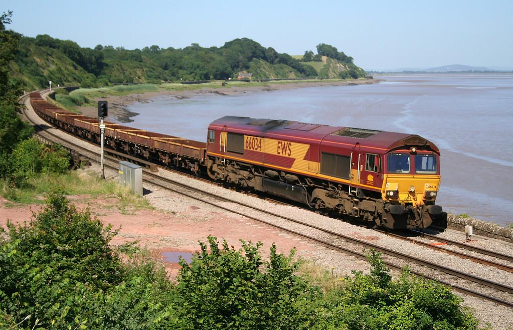 66034, down departmental, Purton, near Lydney, 13-7-06.