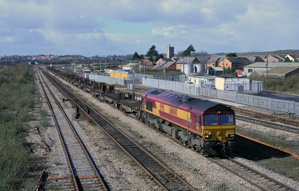 66040, 09.20 Margam-Lackenby, Severn Tunnel Junction, 10-3-06.