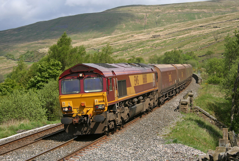 66188, 05.00 Hunterston-Drax Power Station, Denthead Viaduct, 23-5-06.