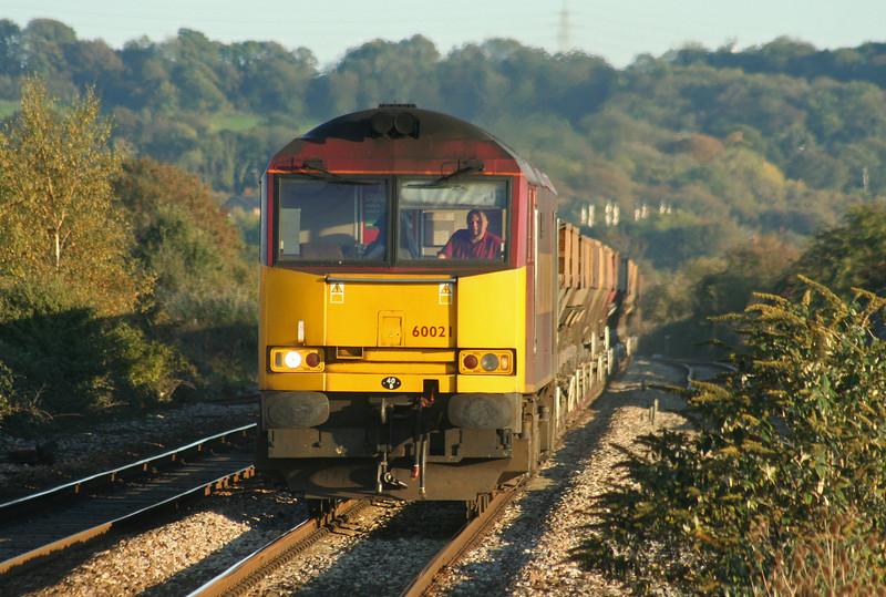 60021, 10.29 Hayes-Newport East Usk Yard, Pilning, 2-11-06.