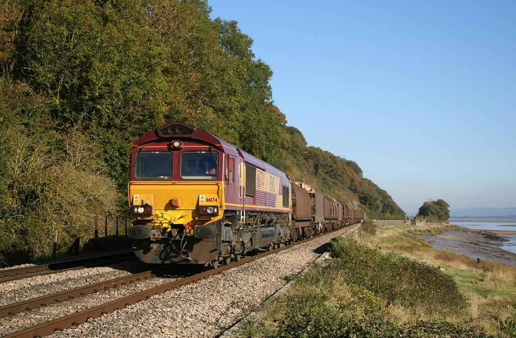 66174, 09.39 Round Oak-Margam, Gatcombe, 2-11-06.