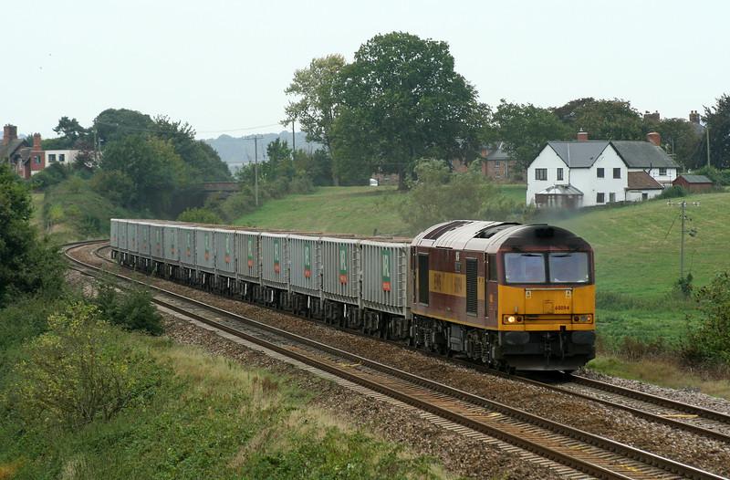 60094, 12.26 Exeter Riverside Yard-Westbury Yard, Rewe, near Exeter, 21-9-06.