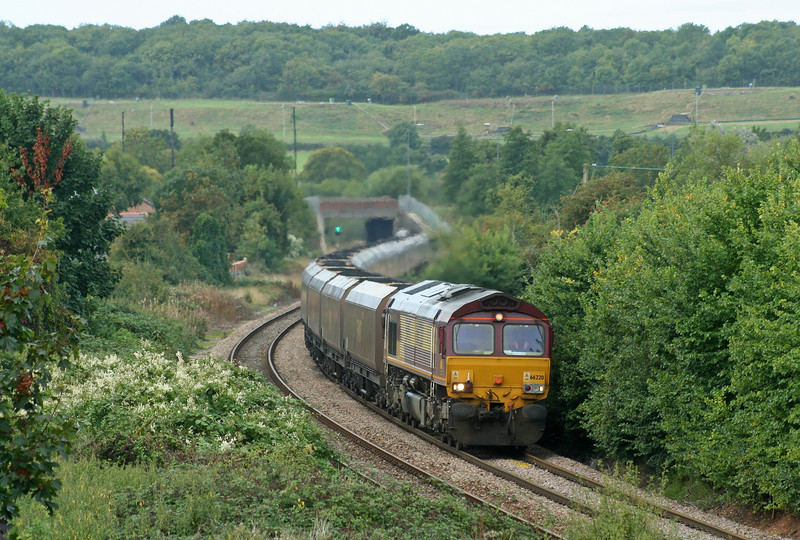 66220, Avonmouth Bulk Handling Terminal-Didcot Power Station, Brentry, Bristol, 15-9-06.