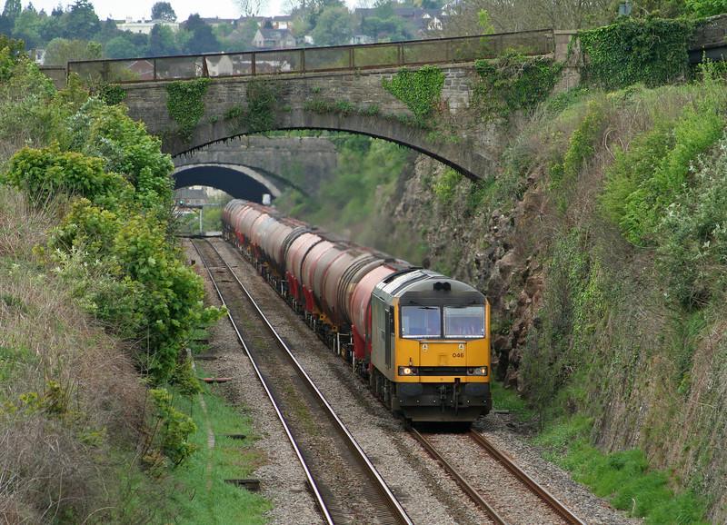 60046, 05.10 Robeston-Westerleigh, Tidenham, near Chepstow, 26-4-07.