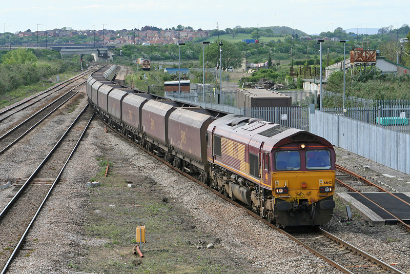 66142, Aberthaw Power Station-Portbury, Severn Tunnel Junction, 26-4-07.
