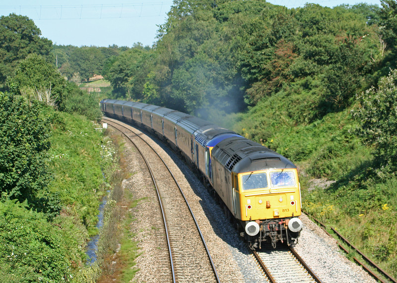 47813, HST down stock move, Whiteball, 22-8-07.