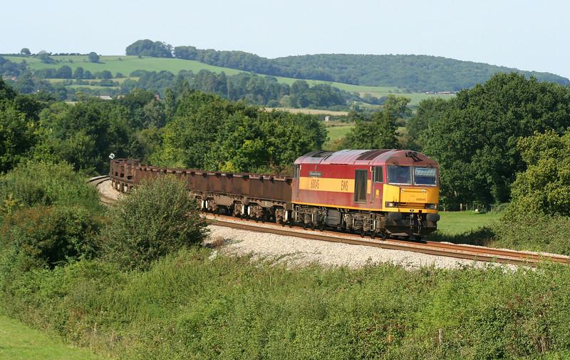 60045, 10.10 Corby-Margam, Box Farm, Awre , near Newnham, Gloucestershire, 23-8-07.