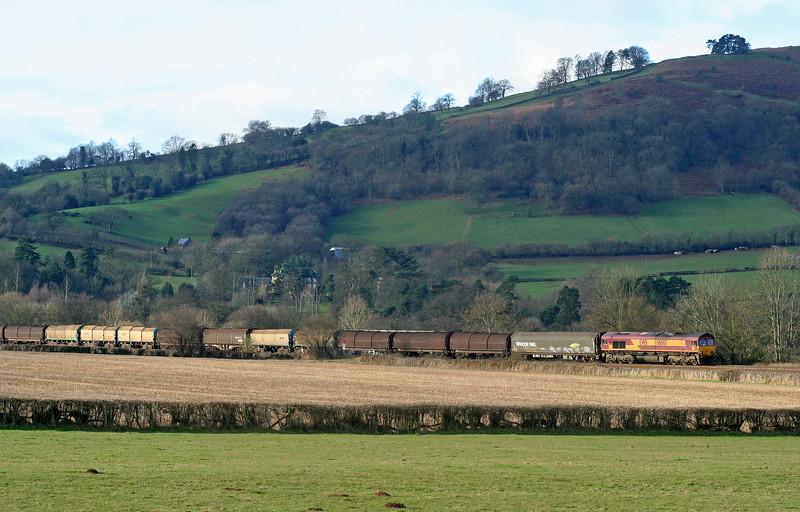 66063, Margam-Dee Marsh, Pandy, near Abergavenny, 27-1-07.