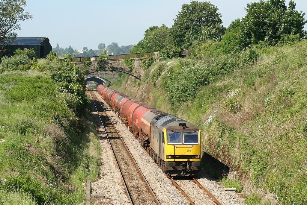 60090, 05.10 Robeston-Westerleigh, Sedbury Lane, Chepstow, 5-6-07.
