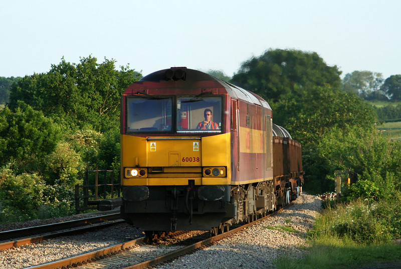 60038, 17.52 Margam-Hartlepool, Bullo Pill, near Newnham, Gloucestershire, 5-6-07.