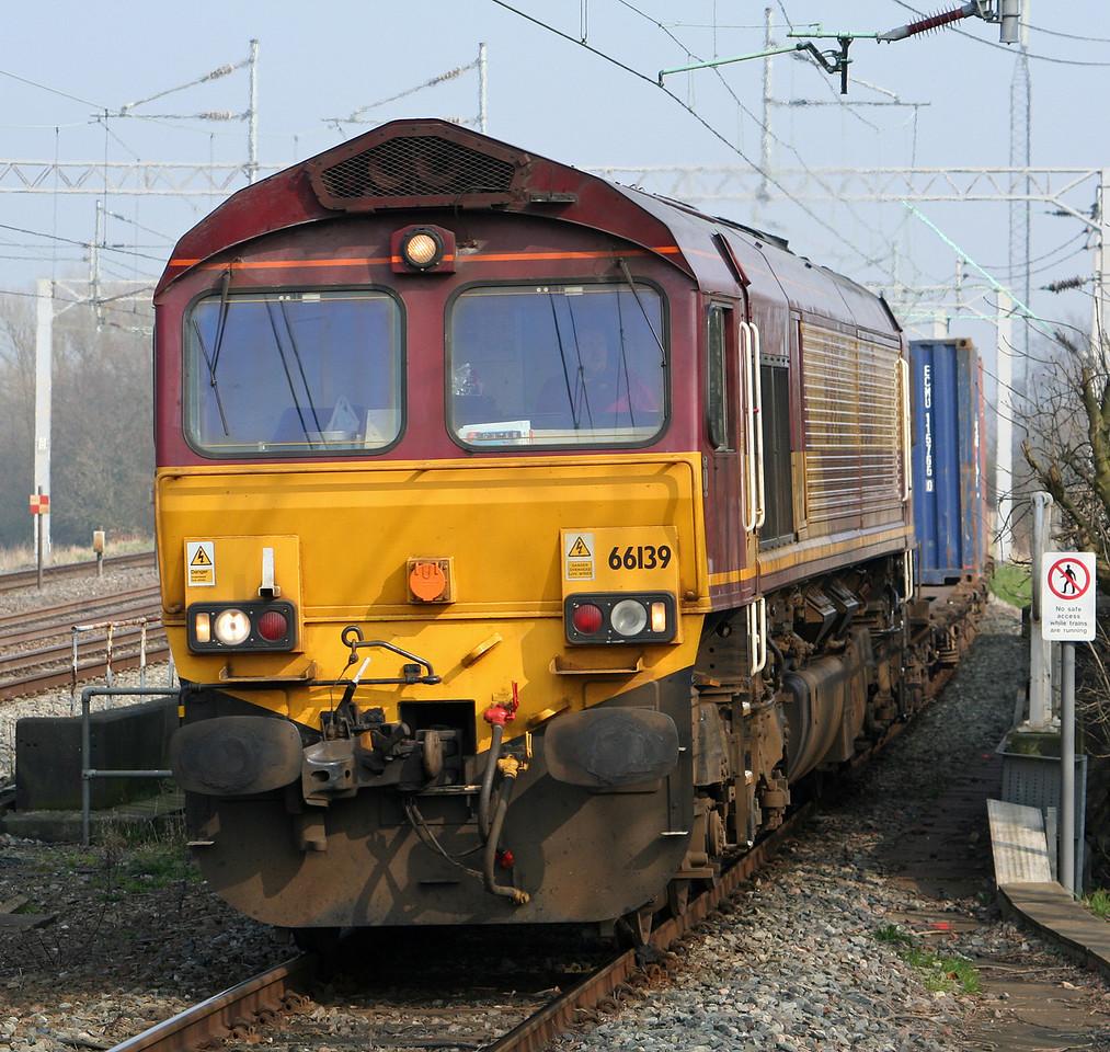 66139, 11.16 Southampton-Ditton Foundry Lane, Tamworth Low Level, 27-3-07.