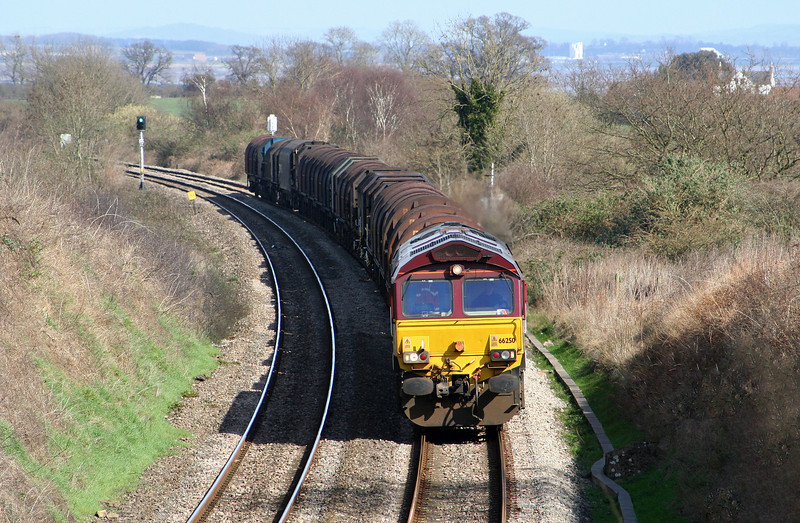 66250, 09.39 Round Oak-Margam, Tidenham, near Chepstow, 16-3-07.