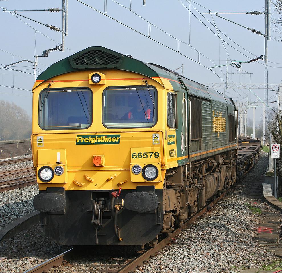 66579, 11.00 Southampton-Ditton, Tamworth Low Level, 27-3-07.