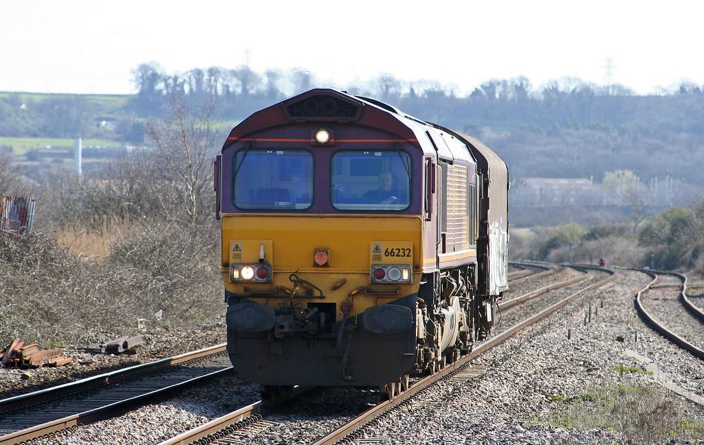 66232, Bristol East Depot-Newport Alexandra Dock Junction, Pilning, 16-3-07.