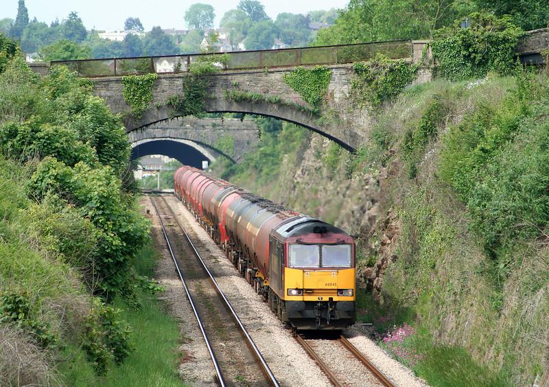 60045, 05.10 Robeston-Westerleigh, Sedbury Lane, Chepstow, 22-5-07.