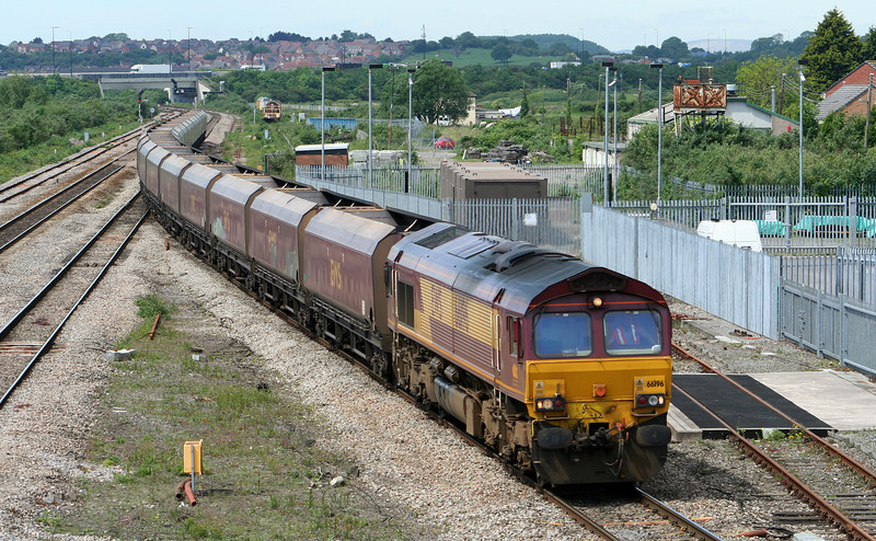 66196, 09.12 Aberthaw Power Station-Avonmouth Bulk Handling Terminal, Severn Tunnel Junction, 22-05-07.