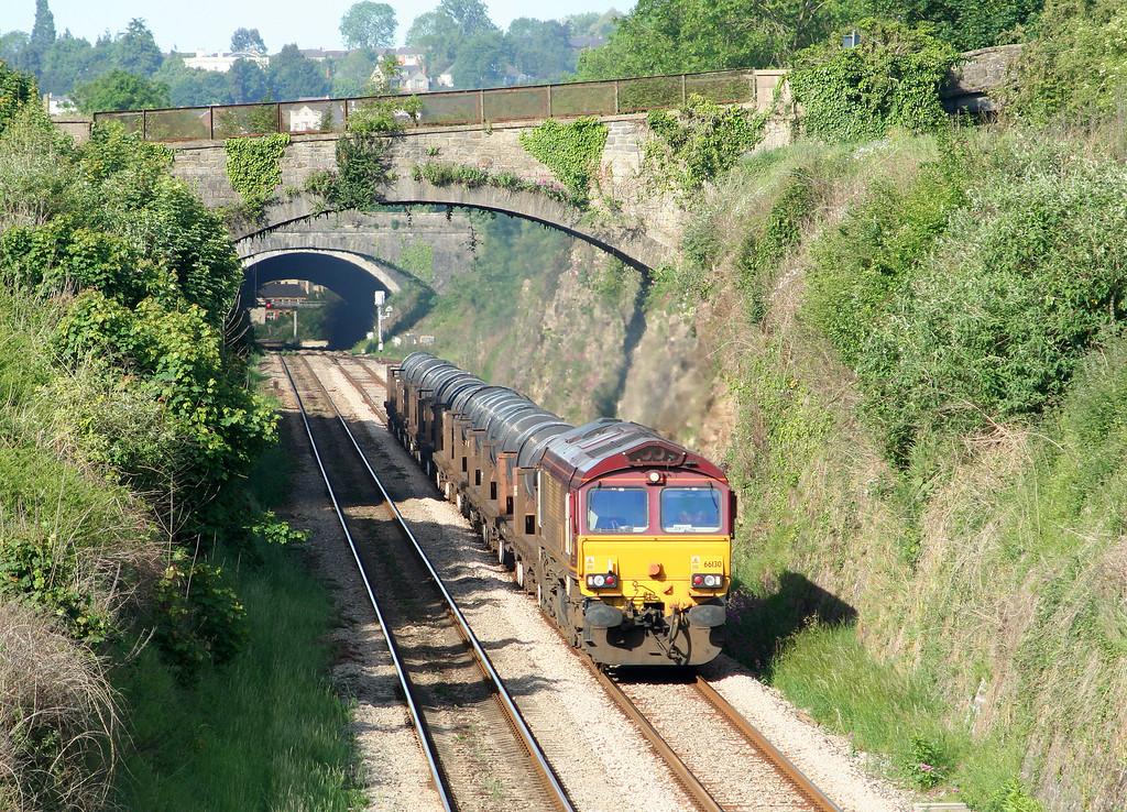 66130, 05.48 Margam-Corby, Sedbury Lane, Chepstow, 22-5-07.