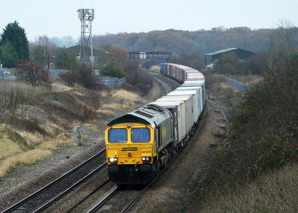 66593, diverted 05.33 Leeds-Southampton, Shrivenham, 17-11-07.