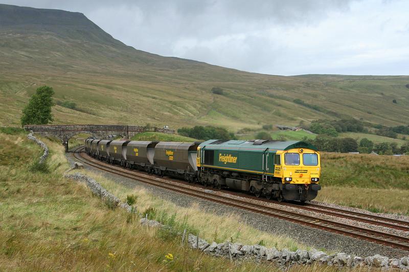 66586, 06.54 New Cumnock-Drax Power Station, Ais Gill, 20-9-07.