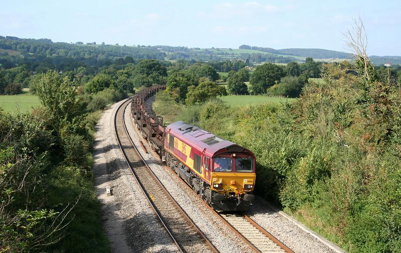 66186, 10.10 Corby-Margam, Box Farm, Awre, near Newnham, Gloucestershire, 11-9-07.