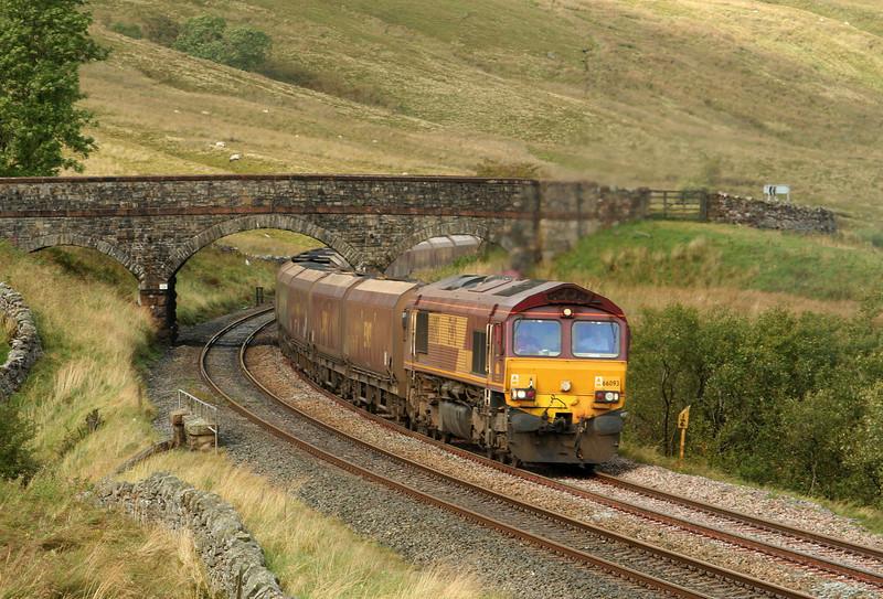 66093, 10.13 New Cumnock-Ratcliffe Power Station, Ais Gill, 20-9-07.